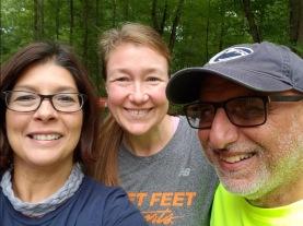 Crystal, myself & Ali, pre-rain!